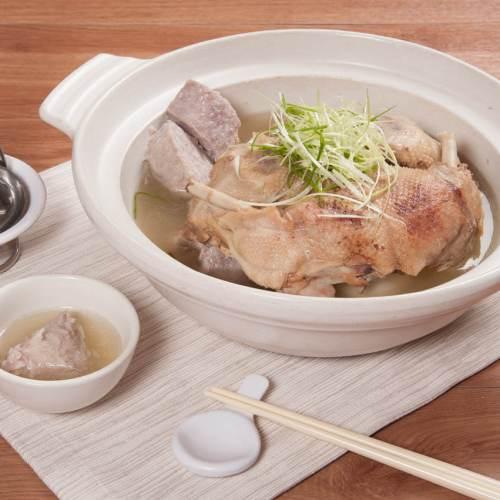 芋頭鴨煲湯