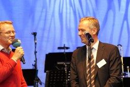 Sebastian Franke im Gespräche mit Matthias Boxberger, Vorstandsvorsitzendem der E.ON Hanse AG