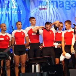 Die polnische Achtermannschaft, Europamesiter 2012
