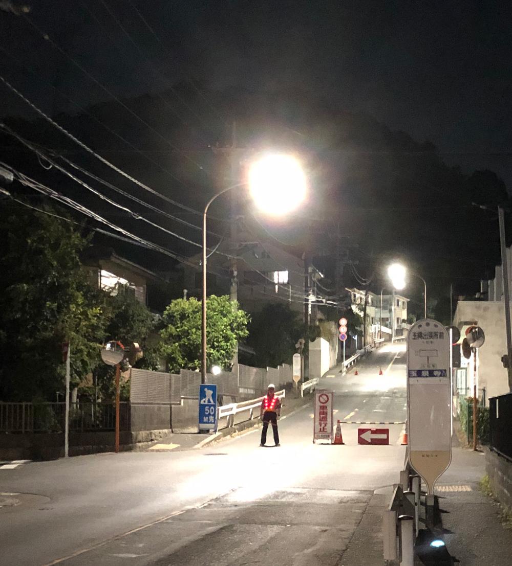 2019年9月8日台風15号の爪痕・がけ崩れ