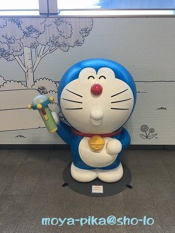 小田急線登戸駅ドラえもんスモールライト