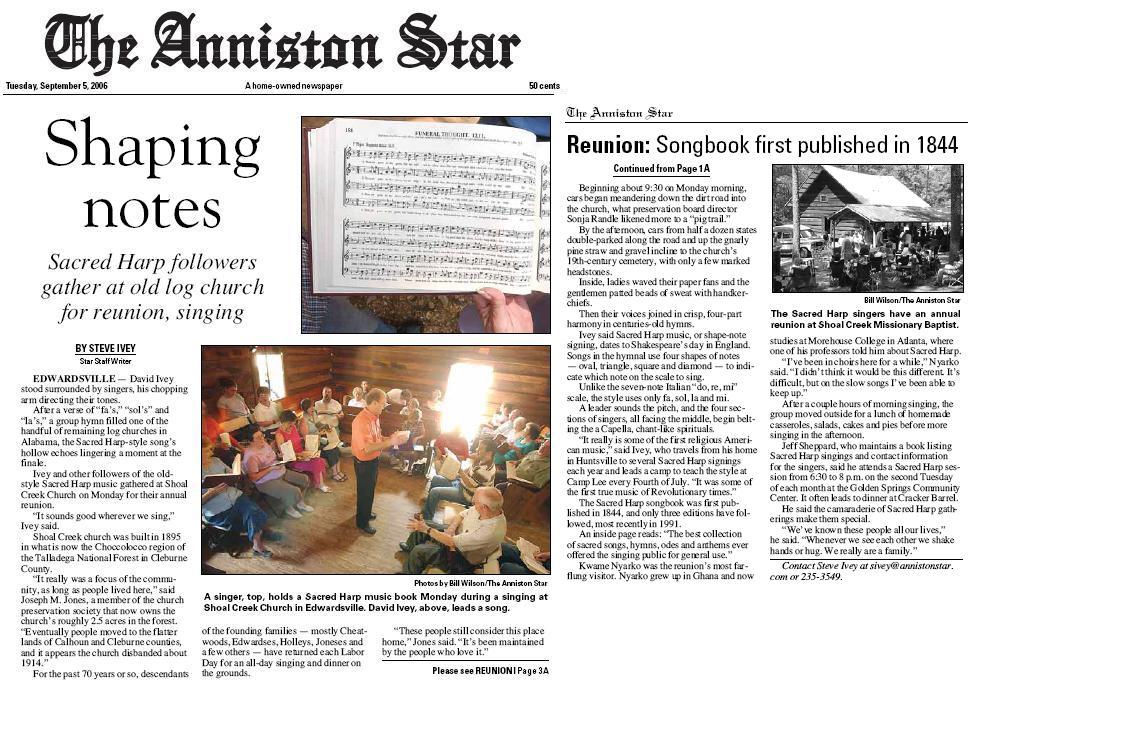 Anniston Star story