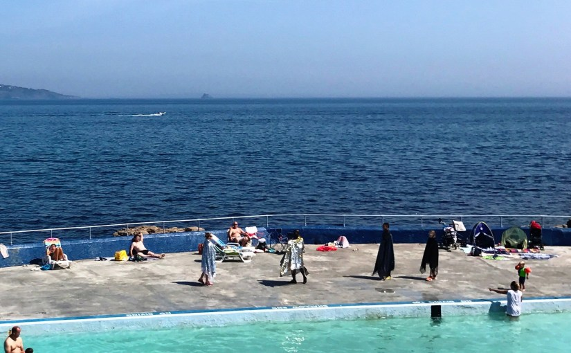 Strange goings on at Shoalstone Pool