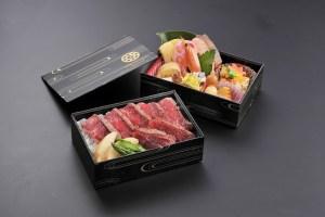 ステーキ弁当 2200円(税別)