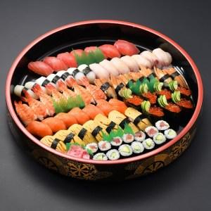 寿司、オードブル