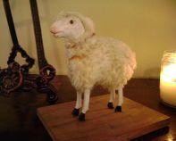 Folk-Art-Sheep-Pull-Toy