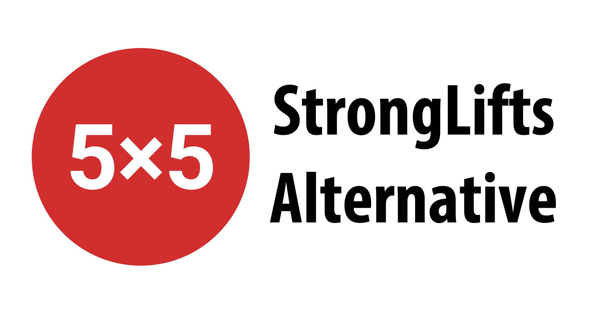Stronglifts 5x5 Alternative Workout