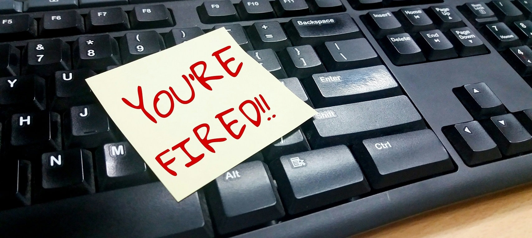 You're Fired (Terminated)