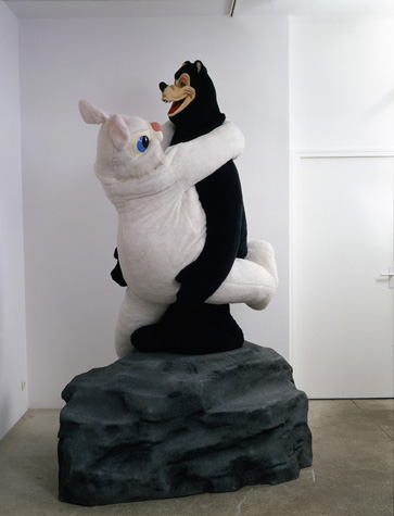 Bear & Rabbit on a Rock 1992