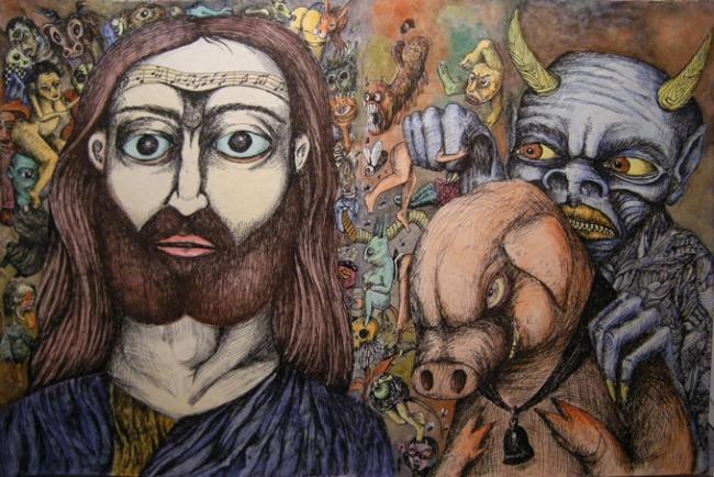 Saint Antoine tenté par le diable - 2010