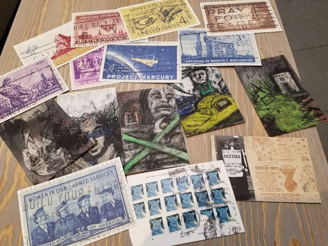 CALL FOR POSTCARD ART! – HUDDLE at Shoebox Projects