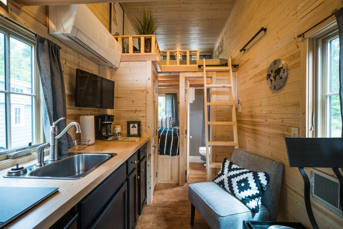 Tiny House Village  Shoebox Dwelling  Finding comfort style and dignity in small spaces