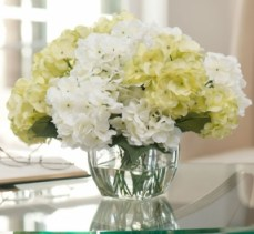 this-would-be-good-for-the-nursery-except-replace-the-yellow-with-lavender-white-yellow-silk-hydrangea-vase-bouquet-centerpiece