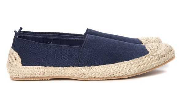 3. Riccione espadrilles. This model in blue and off-white, this year's summer visitor, a kvalitetsespadrill with leather insole and outsole in natural rubber. It has sold quite okay, and could be run on it again next year.