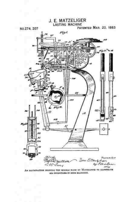 One of several drawings that were part of the patent application.