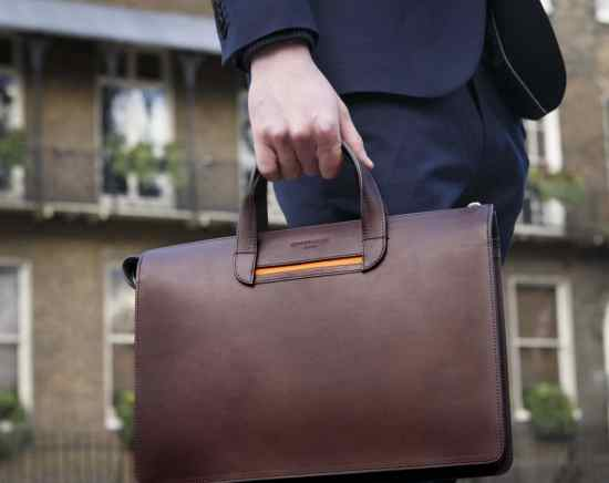 Briefcase from Oppermann London.