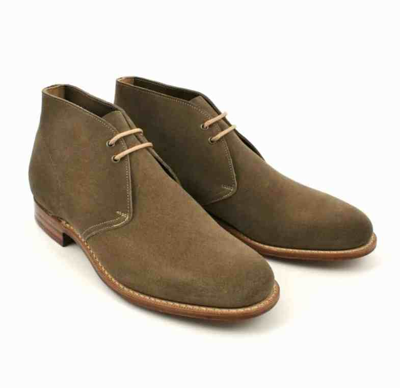 Chukkas are often unlined, this model of Church's. Photo: Shoe Healer