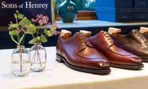 Shoegazing Podcast - Ep. 4, Tom Brone, Sons of Henrey, about starting a new shoe brand