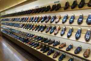 The picture - The shoe shelf of shoe shelves