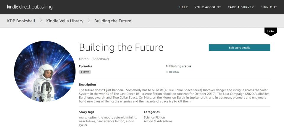 """Building the Future - Featuring """"Futuristic astronaut girl in space suit and planet"""" by Luca Oleastri"""