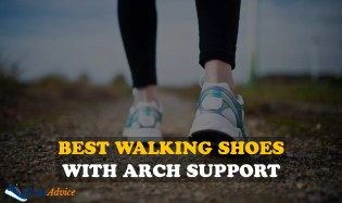 best walking shoes with arch support