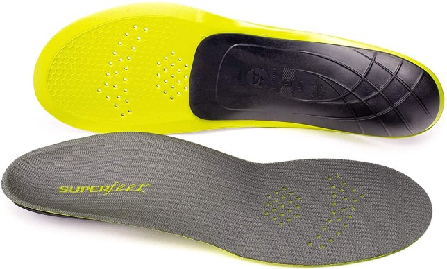 Superfeet Unisex-Adult Pain Relief Strong Thin Insoles-min