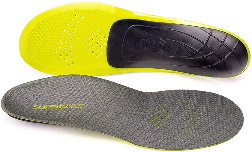 Superfeet Unisex-Adult Pain Relief Strong Thin Insoles