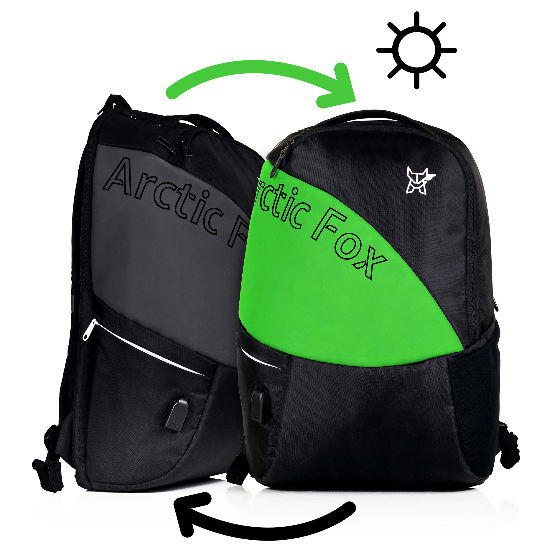 Bangalore-based Arctic Fox launches Colour Changing Backpacks with USB Port  - Shoes   Accessories 58a11e7bf4ec1