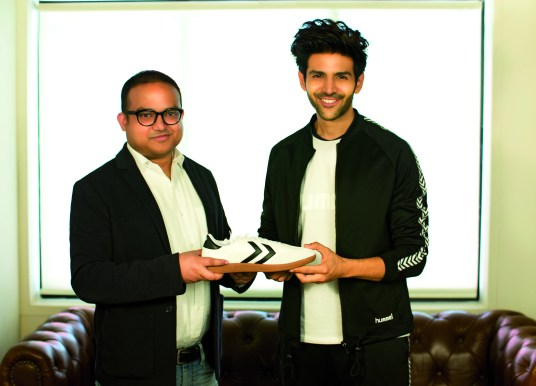 Hummel signs Kartik Aaryan as India Brand Ambassador