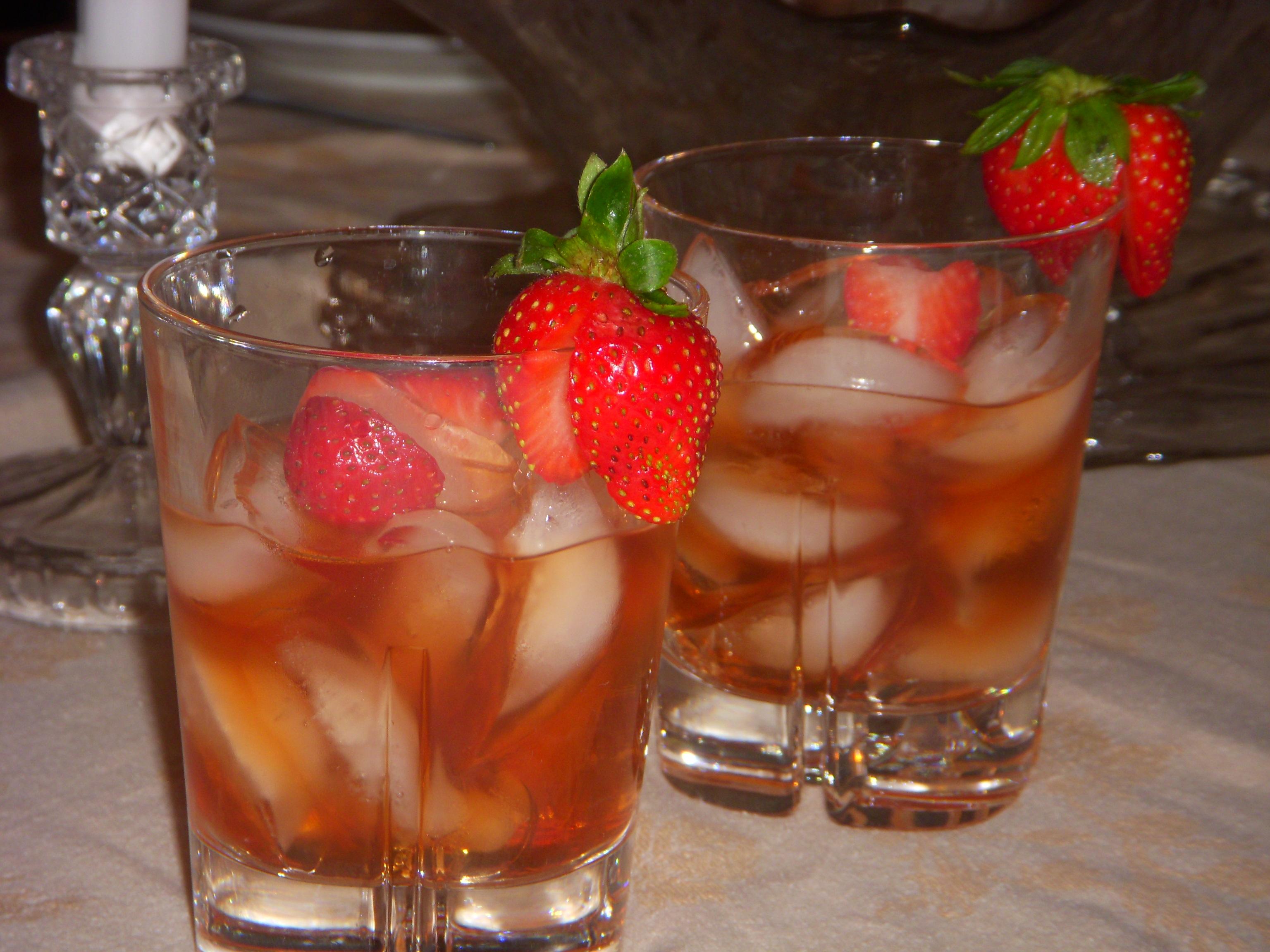 Strawberry Manhattan