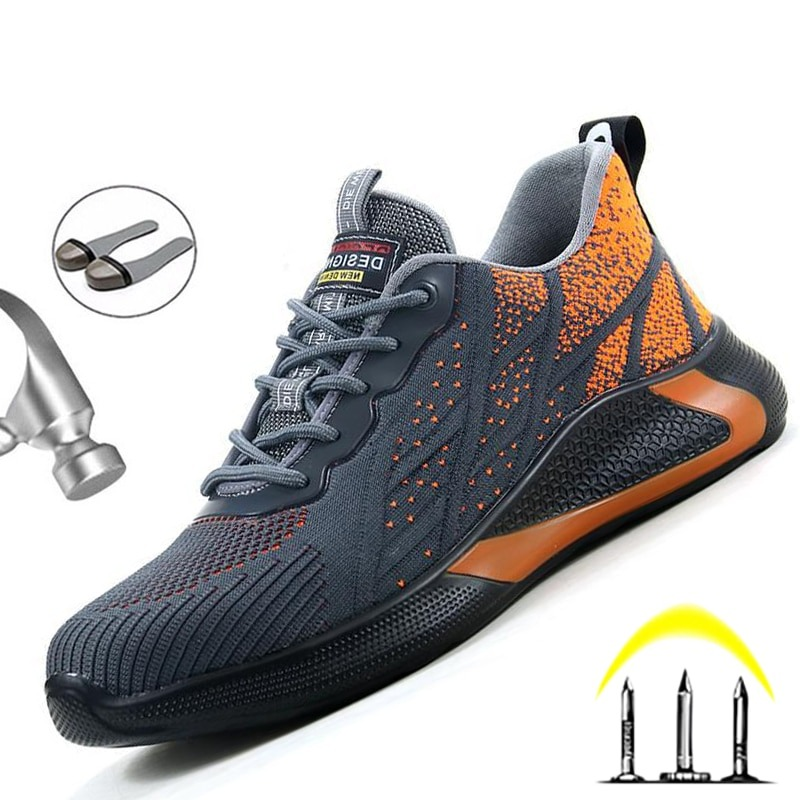 """Indestructible Construction Safety Work Sneakers-""""HYDRA""""  3"""