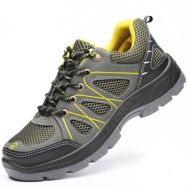 """Breathable Safety Shoes Steel Toe Safety Work Sneakers """"LIGEX"""""""