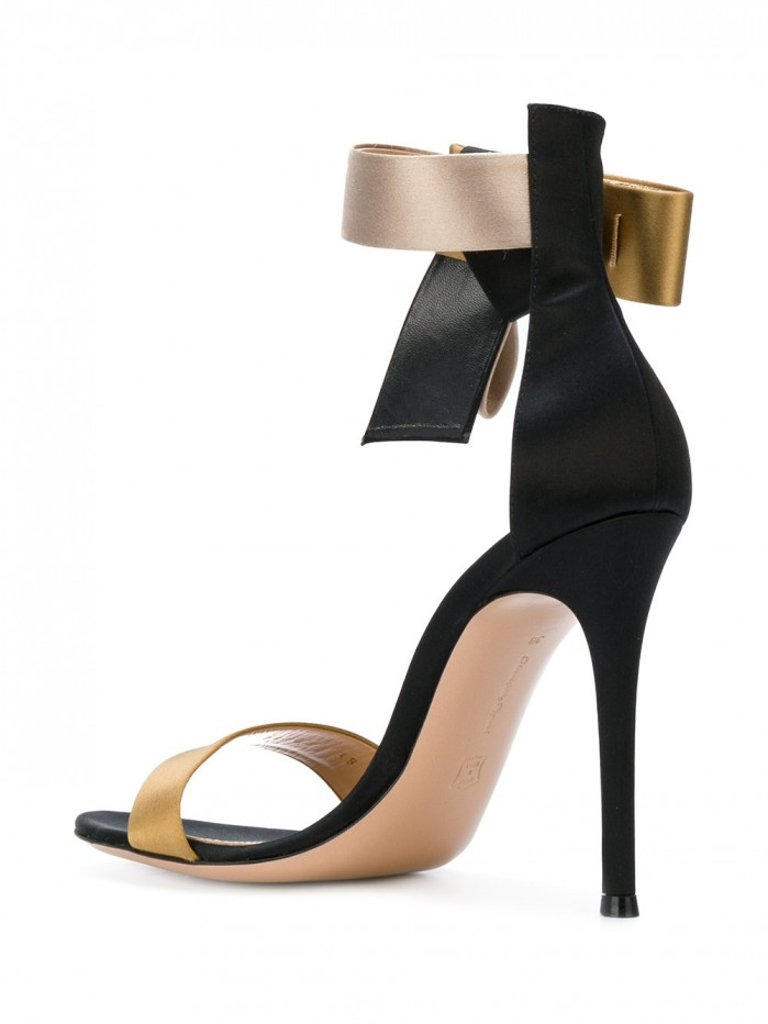 GIANVITO ROSSI bow strap sandals  Shoes Post