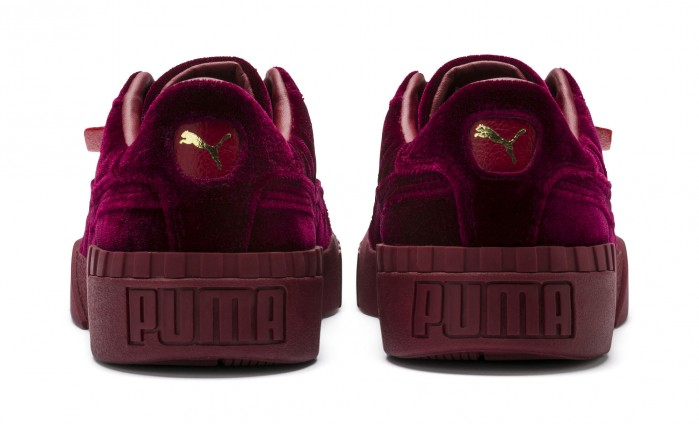 PUMA Cali Velvet Womens Sneakers  Shoes Post