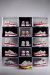 Drop Front Shoe Box