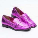 loafer sapato mule verão 2021 metalizado pink furta-cor shoes to love loja online calçados femininos tendencias (1)