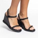 sandalia feminina anabela plataforma flatform verão 2021 preta black detalhes em trança shoes to love loja online calçados femininos tendencias (32)