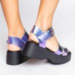 sandalia verão 2021 flatform metalizada futa-cor roxa azul shoes to love loja online calçados femininos tendencias (3)