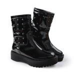 bota estilo galocha preta com tachas preta loja on line de calçados feminino (2)
