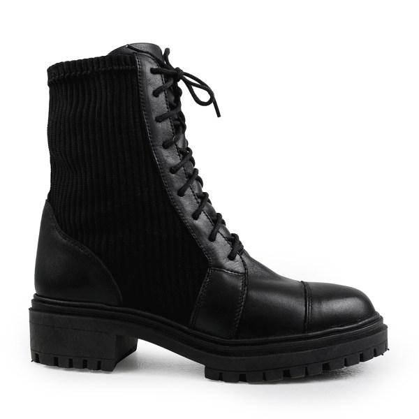 Coturno-Couro-detalhes-em-trico-preto-loja-on-line-de-calcados-femininos-inverno-2021