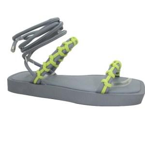 sandalia-rasteira-Yohanes-cinza-com-corda-manual-neon-amarelo-palmilha-confortverao-2022-loja-online