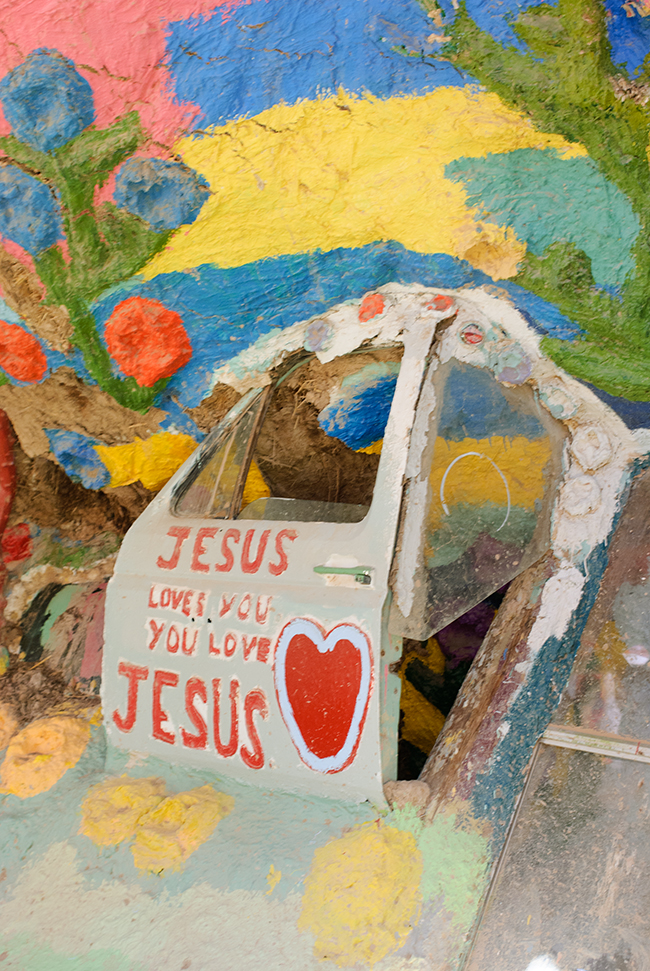 Desert Fever Road Trip To Salvation Mountain Shoestring