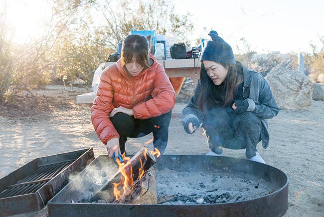 Morning Campfire