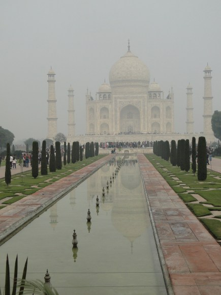 Visiting the Taj Mahal, India