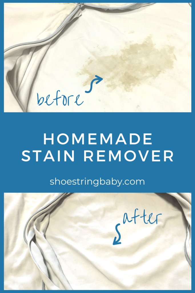 homemade stain remover with hydrogen peroxide