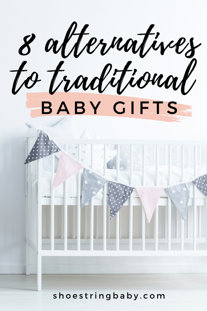 alternatives to traditional baby gifts