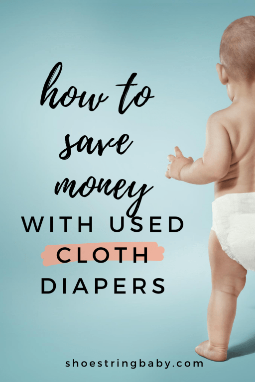 How to save money with secondhand cloth diapers