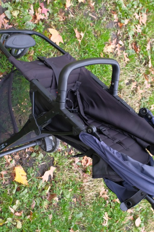Side picture of a Zoe stroller