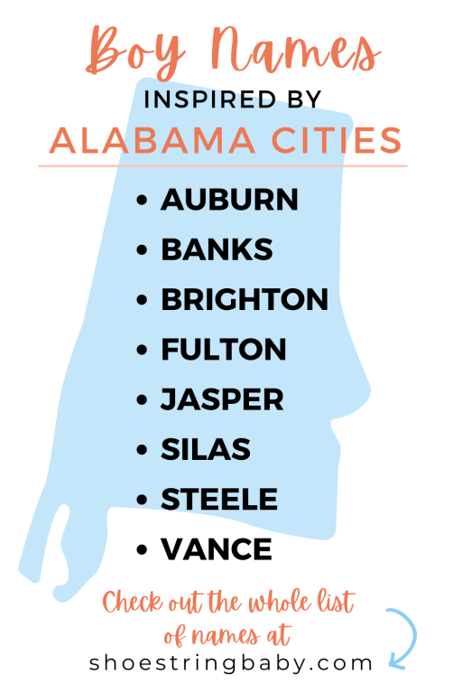 boy name ideas from alabama cities