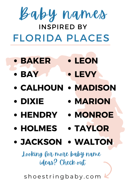 name ideas from florida counties